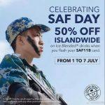 新加坡军人节促销海报,主角竟是中国海军!
