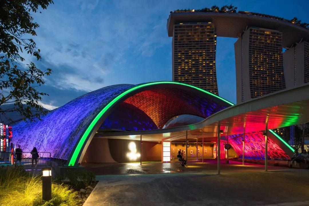 新加坡网红必打卡景点,做朋友圈最靓的仔~