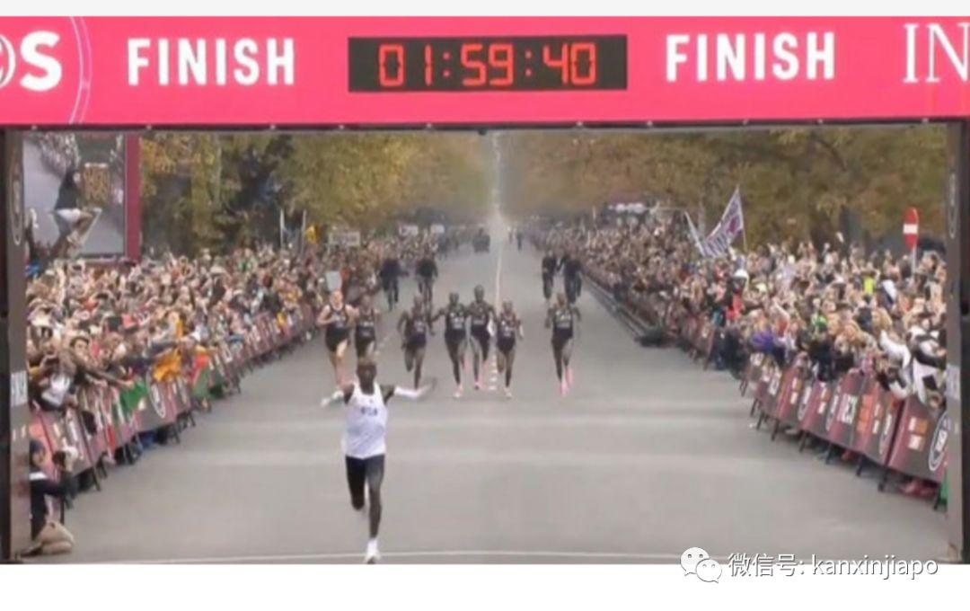 全网刷爆!打破人类极限,马拉松终于突破2小时