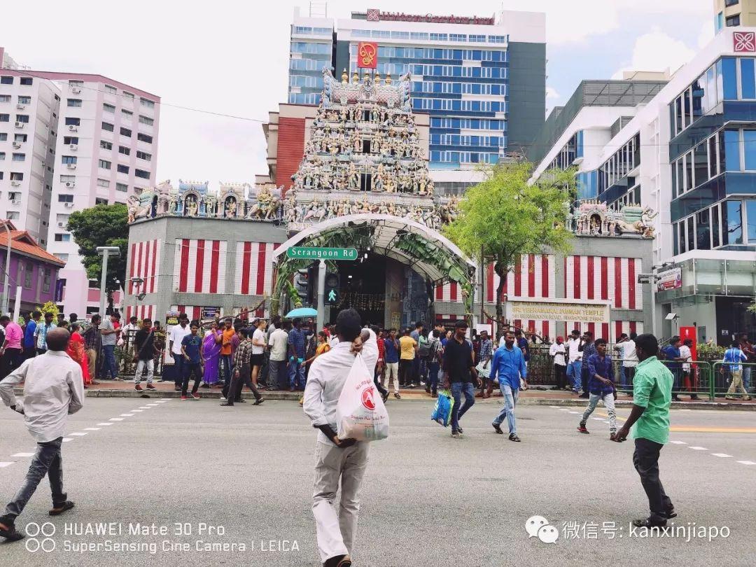 美炸!新加坡迎来屠妖节,小印度惊艳变这样!