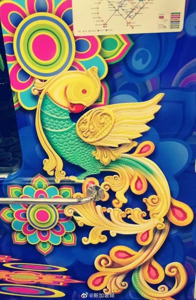 最近,新加坡地铁里出现的这只大鸟到底是啥?