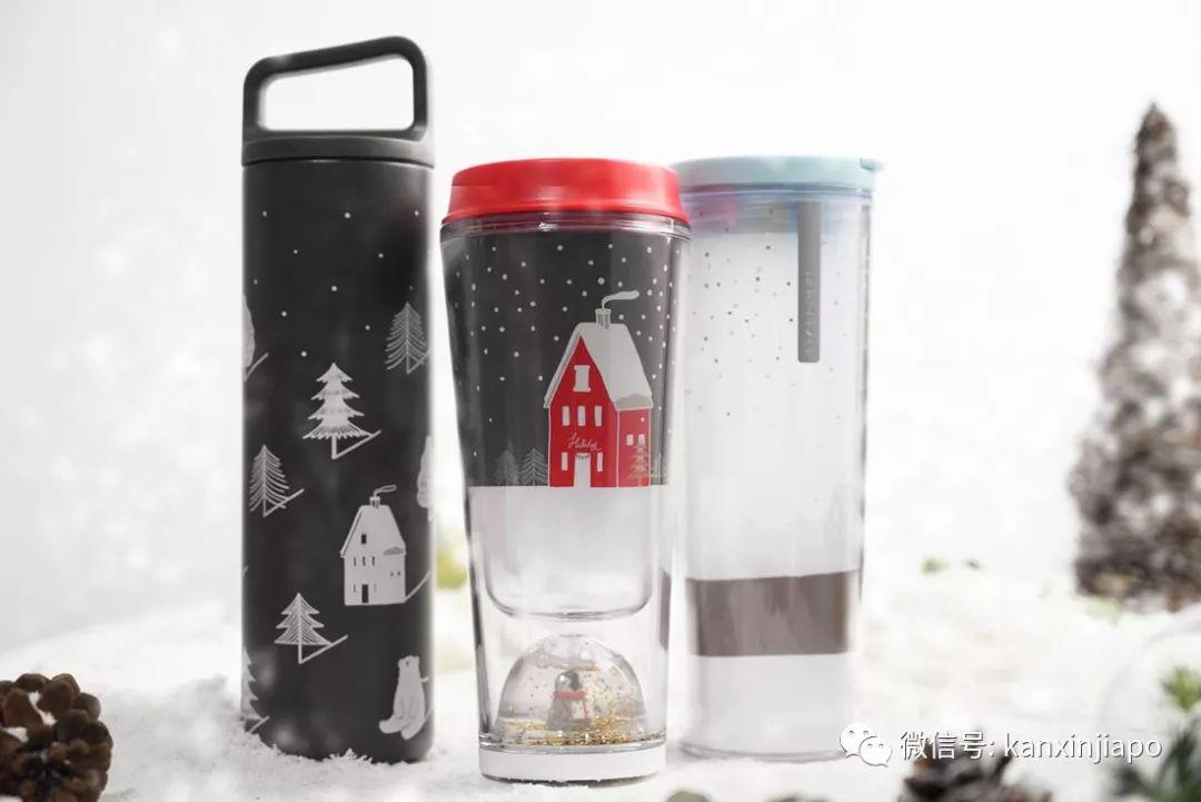 """萌翻了!新加坡星巴克圣诞节推限量北极熊新杯子,全岛要""""下雪""""?"""