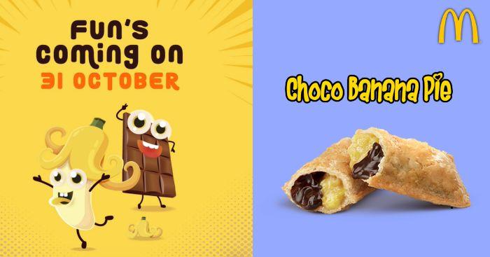 【下周活动】麦当劳推出巧克力香蕉派,COACH包包半价再7折!