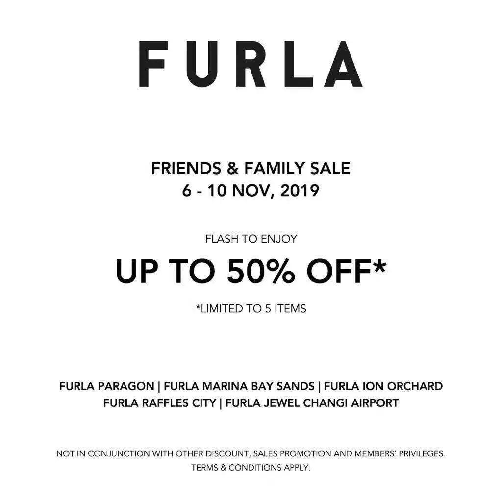 【下周活动】出街必备Furla半价,茱莉蔻推圣诞套装,双十一促销来袭