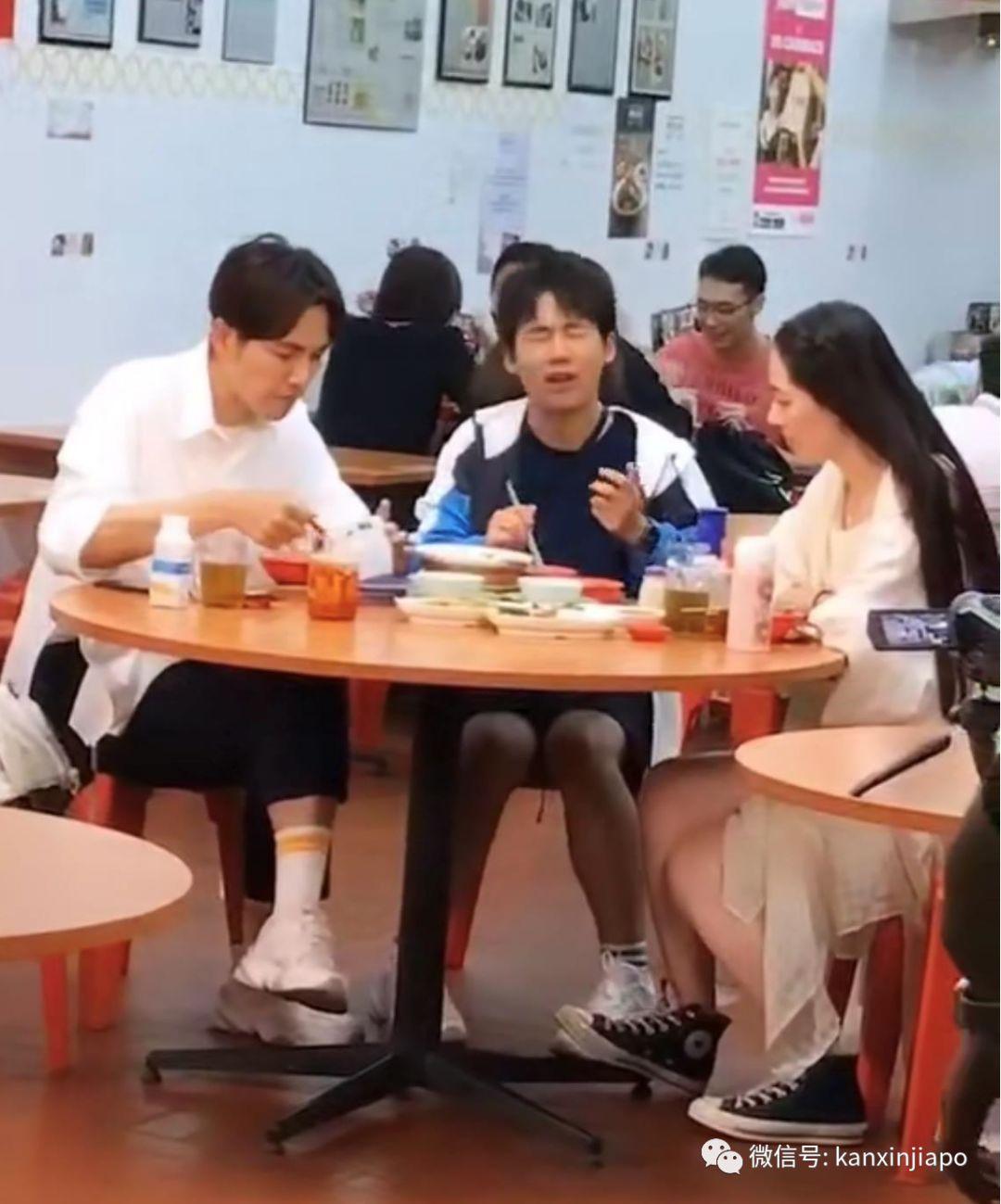 新加坡街头邂逅钟汉良、郭麒麟、郭碧婷,这是个什么组合?