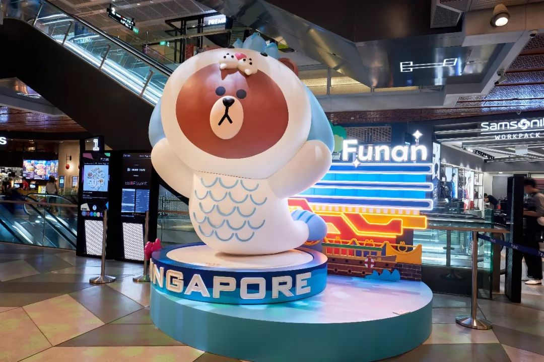 萌物来袭!可妮兔、布朗熊攻进新加坡13家商场啦!