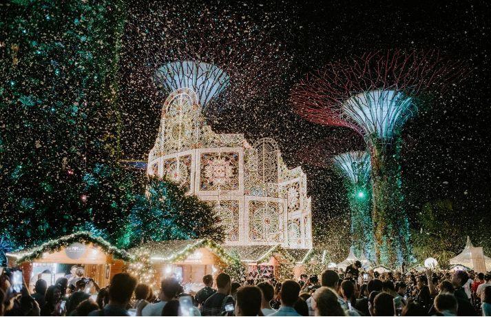 热带的北极盛宴!滨海湾花园圣诞仙境全攻略~