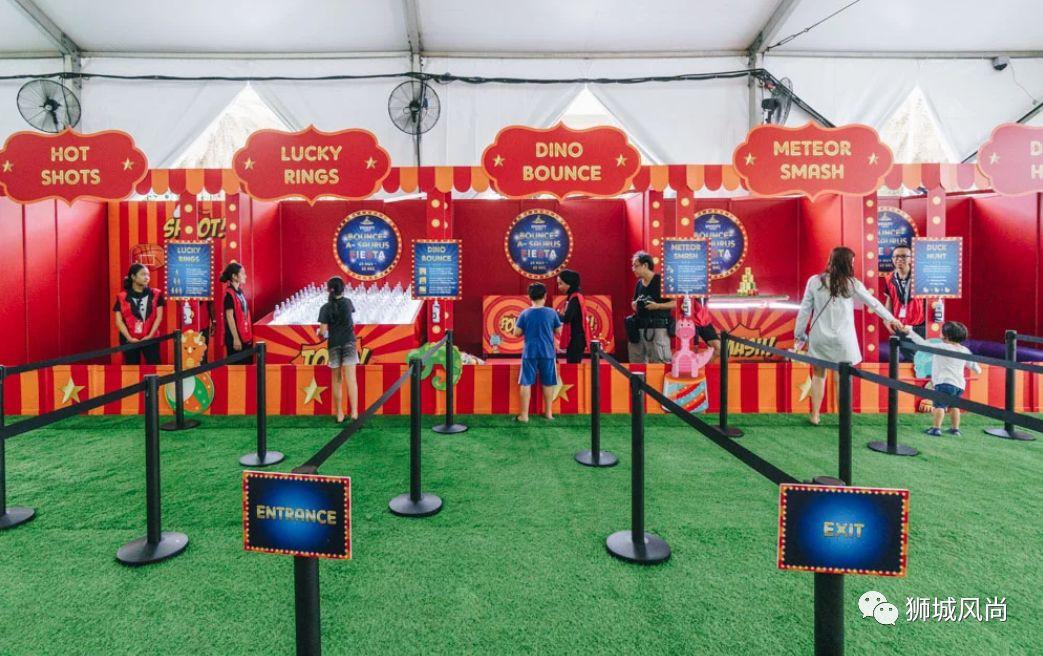 Bounce-A-Saurus Fiesta at VivoCity