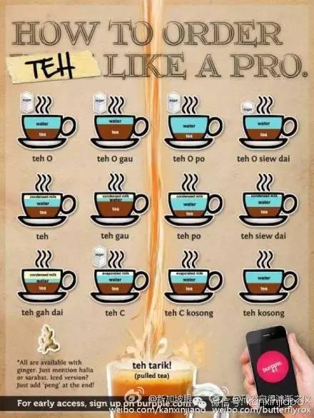"""要在新加坡生活,你必须先学会怎么在咖啡店叫""""水"""""""