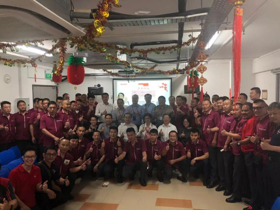 农历新年来临之际,中国大使馆在新加坡干了这件事