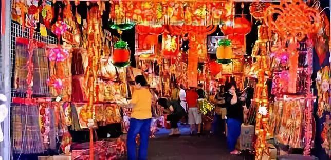 2020新加坡年货市场开业了!总统出席牛车水亮灯仪式