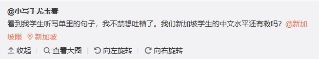 """学校听写表""""出错"""",新加坡华语水平又惹争议?"""