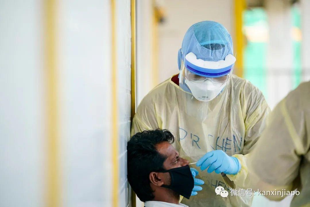 过去7天出现10个客工宿舍感染群,一人曾需输氧